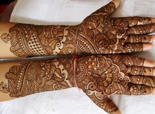 indian mehndi designs easy