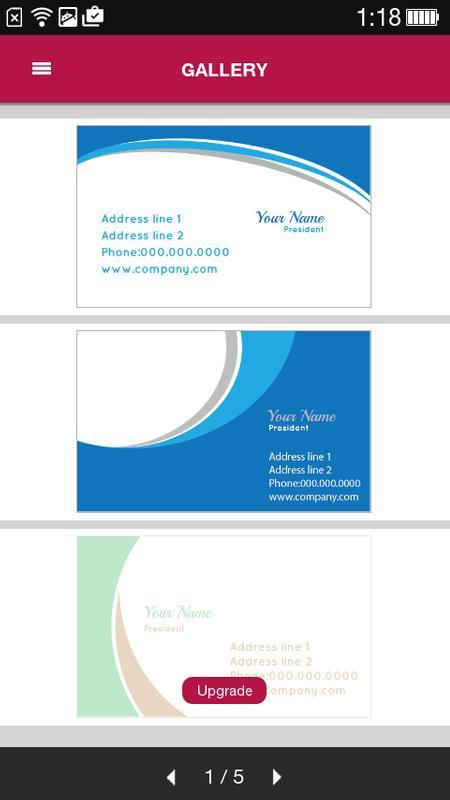 Free business card maker apk download free business app for free business card maker poster free business card maker apk screenshot colourmoves