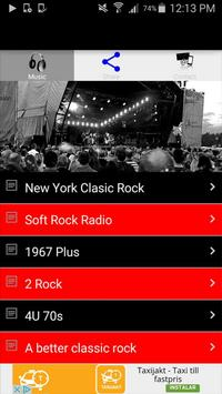 Rock Radio Music Online Free poster