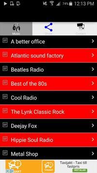 Rock Radio Music Online Free screenshot 1