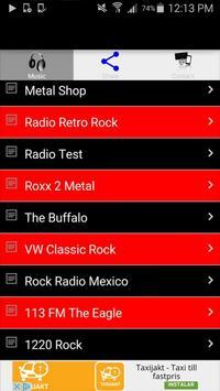 Rock Radio Music Online Free screenshot 5