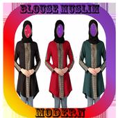 Design Blouse Muslimah Ideas icon