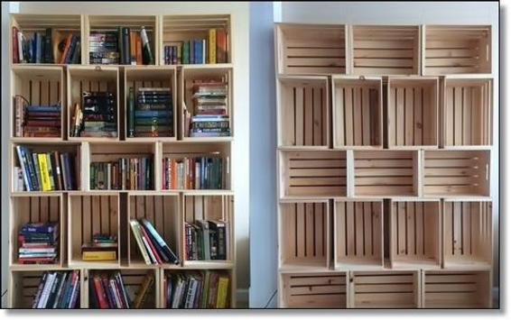 Design Bookshelf Simple poster