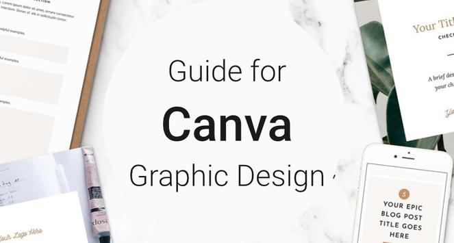 Guide for Canva Graphic Design poster