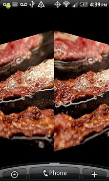 Sizzling Bacon Live Wallpaper! screenshot 2