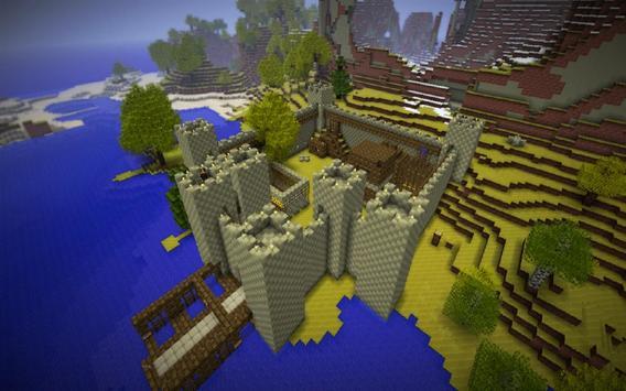 Moving Minecraft LiveWallpaper Apk Screenshot