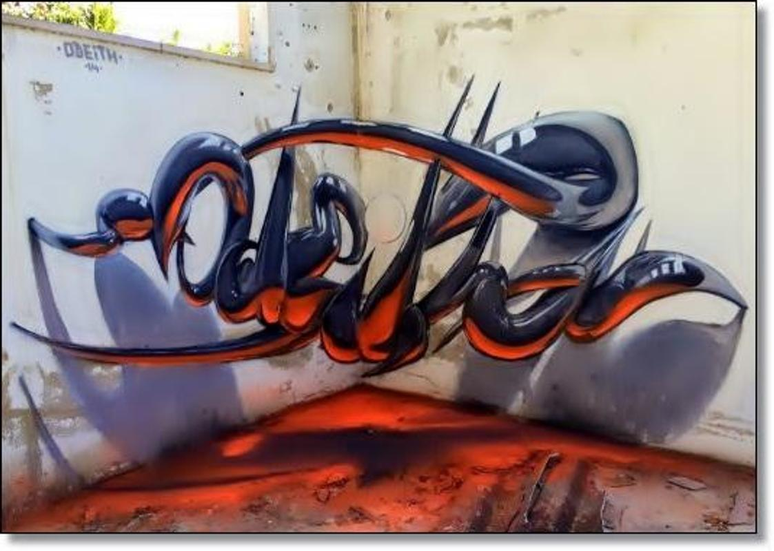 Design Graffiti Names 3d Ideas For Android Apk Download