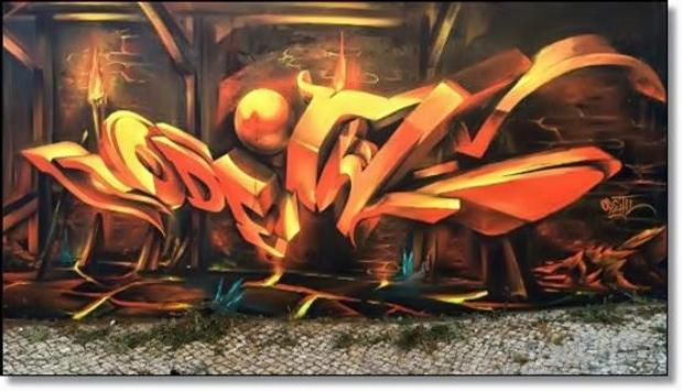 Design Graffiti Names 3D Ideas apk screenshot