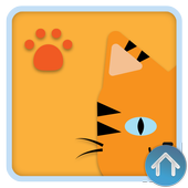 Tiger Cat Theme - Be Launcher icon