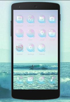 Bubbles Theme for Be Launcher poster