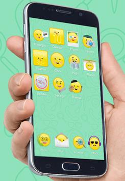 Smileys Theme for Be Launcher poster