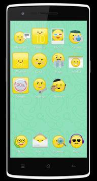 Smileys Theme for Be Launcher apk screenshot