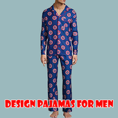 design pajamas for men icon