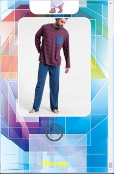 design pajamas for men screenshot 5