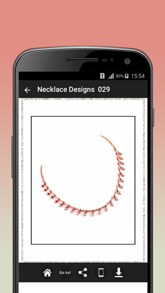 Necklace Design Ideas poster
