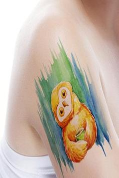 Watercolor Tattoo Ideas poster
