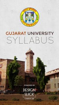 Gujarat University Syllabus poster