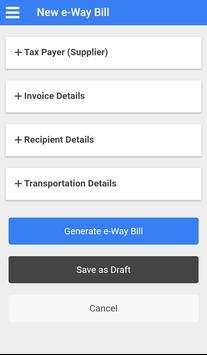e-Way Bill screenshot 2