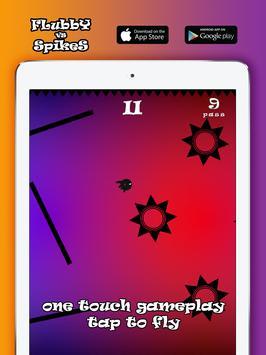 Flubby vs Spikes apk screenshot