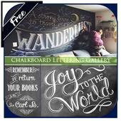 Chalkboard Lettering Gallery icon