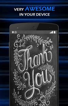 Chalkboard Lettering Gallery apk screenshot