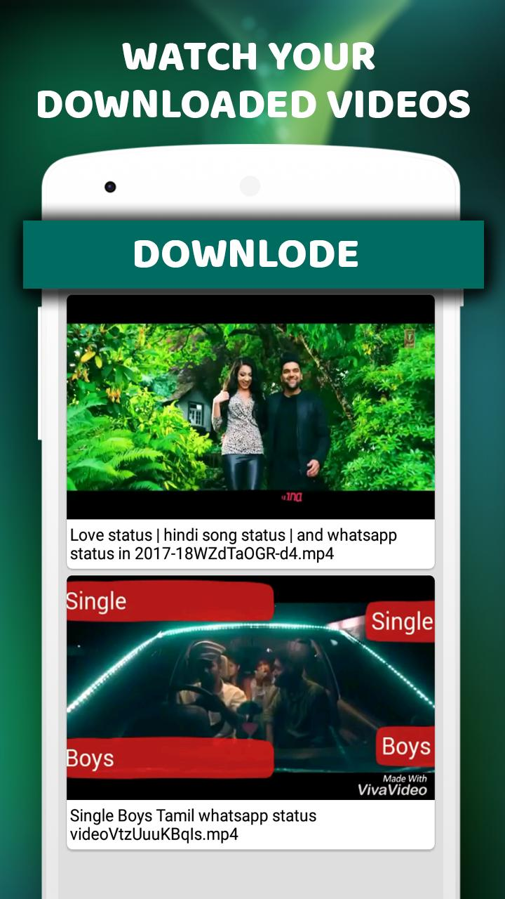 Tamil Video song status : lyrical video song for Android
