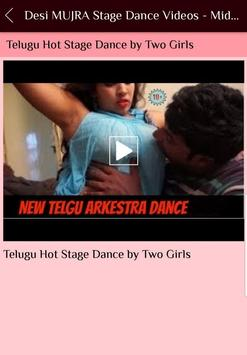 Desi MUJRA Stage Dance Videos - Midnight Maza screenshot 4