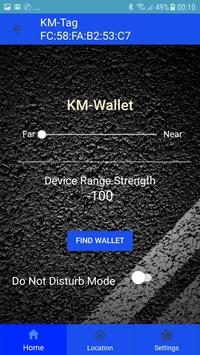 1 Schermata KM Wallet Care
