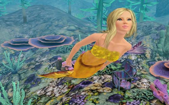 Mermaid Princess Adventure 3d screenshot 1