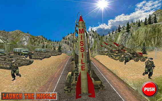 Missile Attack Army Truck 2017: Army Truck Games poster