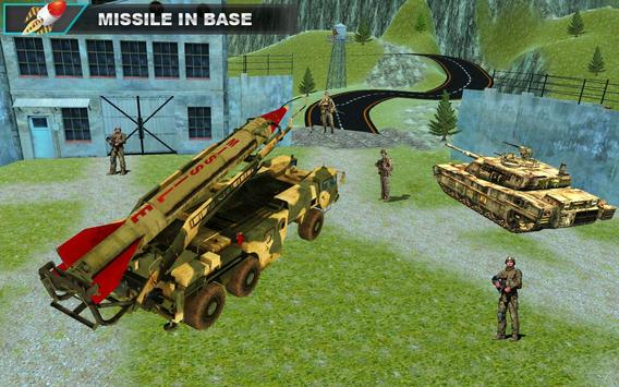 Army Adventure Missile Free game apk screenshot