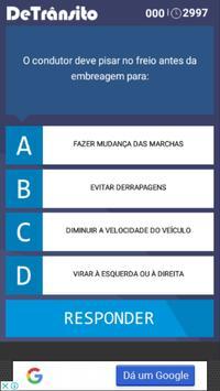 Quiz Detrânsito screenshot 1