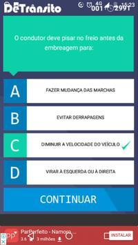 Quiz Detrânsito screenshot 2