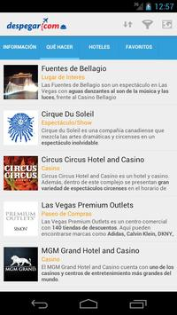 Las Vegas: Guía turística screenshot 1