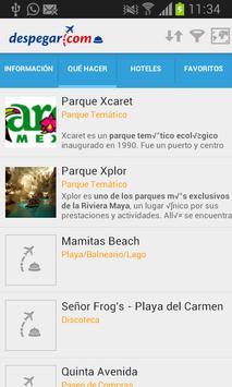 Guía de Playa del Carmen screenshot 1