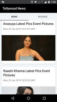 Tollywood News screenshot 1