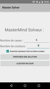 MasterMind Solver poster