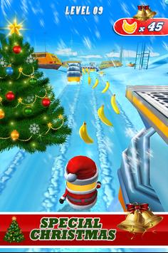 banana despicable rush minion christmas legends screenshot 3 - Minion Rush Christmas