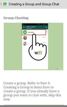 Best Guide Whatsapp Messenger screenshot 2