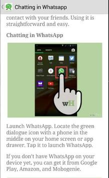 Best Guide Whatsapp Messenger screenshot 4