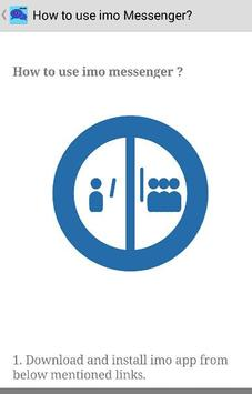 Guide Free imo Video Chat Call screenshot 4