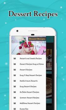 Dessert Recipes screenshot 5