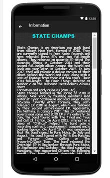 State Champs Song & Lyrics apk screenshot