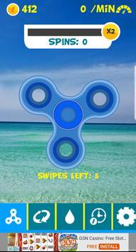 Beach Fidget Spinner apk screenshot