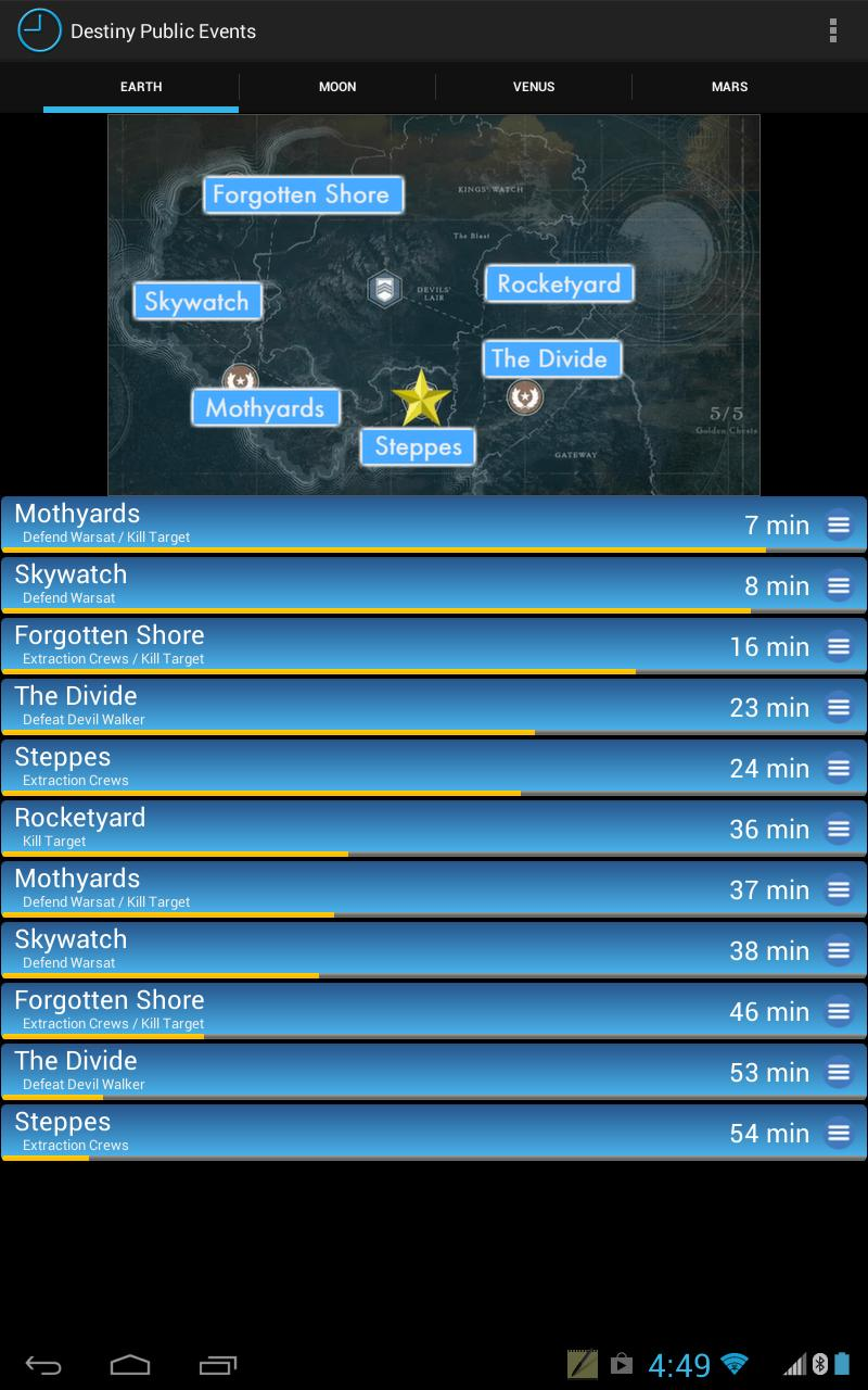 Public Events for Destiny for Android - APK Download