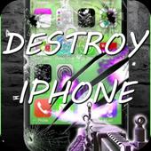 Destroy the Iphone: Prank icon