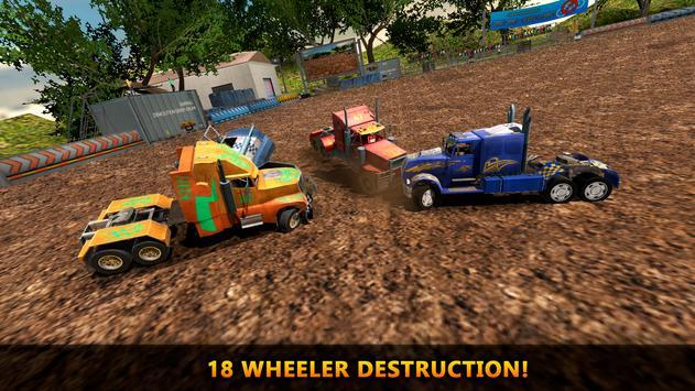 18 Wheeler Truck Crash Derby apk screenshot