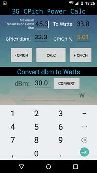 3G - CPICH Calculator apk screenshot