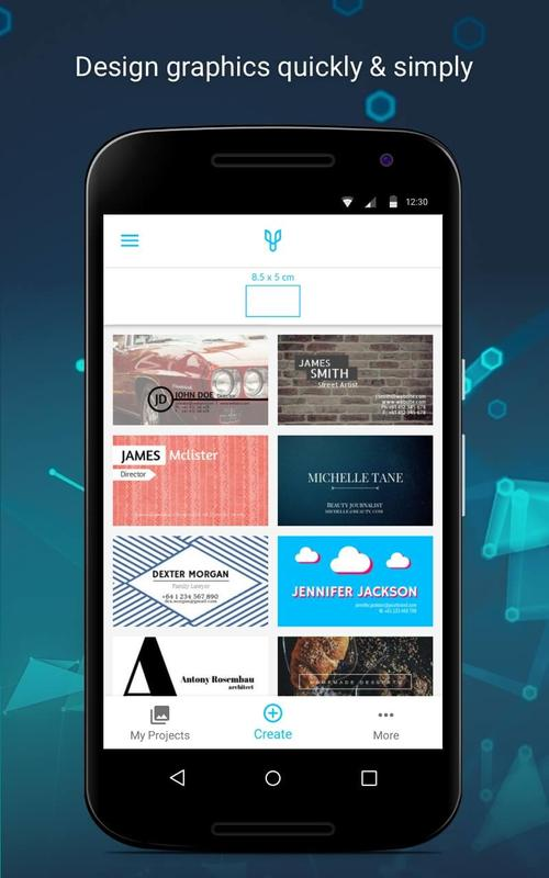 Business cards by desygner para android apk baixar business cards by desygner cartaz reheart Images