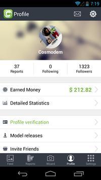 Clashot: Take pics, make money apk screenshot